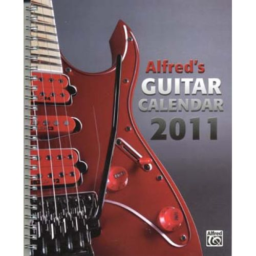 ALFRED PUBLISHING CALENDAR ALFRED'S GUITAR 2011