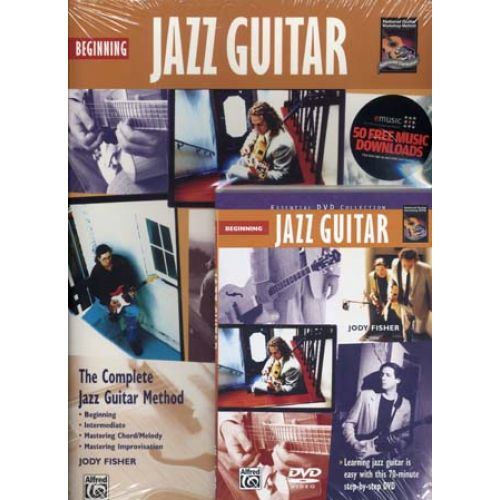 ALFRED PUBLISHING FISHER J. - BEGINNING JAZZ GUITAR + DVD - GUITARE