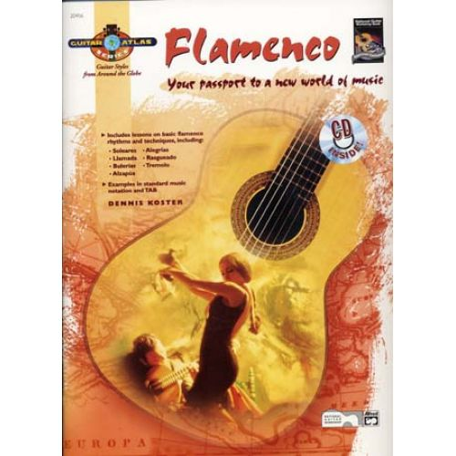 ALFRED PUBLISHING KOSTER DENNIS - GUITAR ATLAS FLAMENCO + CD