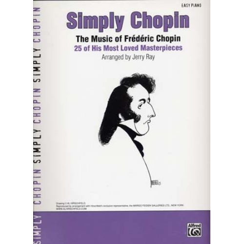 ALFRED PUBLISHING CHOPIN - SIMPLY EASY PIANO