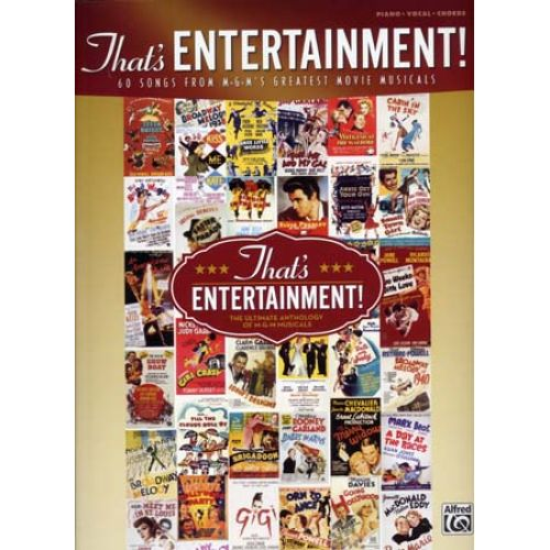 ALFRED PUBLISHING THAT'S ENTERTAINMENT ! PVG