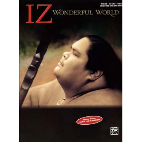 ALFRED PUBLISHING IZ WONDERFUL WORLD PVG/UKULELE