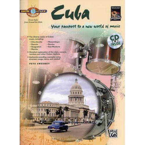ALFRED PUBLISHING SWEENEY PETE - DRUM ATLAS CUBA + CD