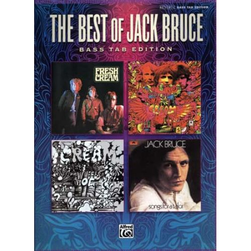 ALFRED PUBLISHING BRUCE JACK - BEST OF - BASS TAB