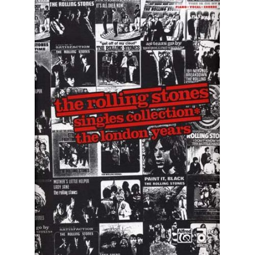 ALFRED PUBLISHING ROLLING STONES - SINGLES COLLECTION LONDON YEARS - PVG