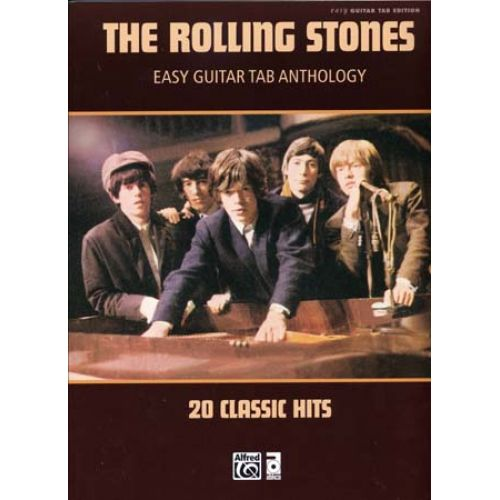 ALFRED PUBLISHING ROLLING STONES - EASY GUITAR TAB ANTHOLOGY