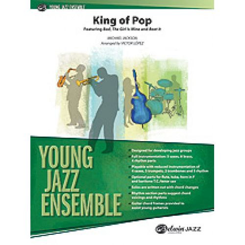 ALFRED PUBLISHING JACKSON MICKAEL - KING OF POP, YOUNG JAZZ ENSEMBLE
