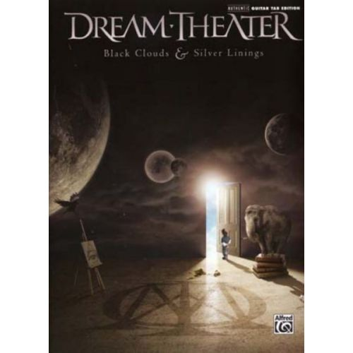 ALFRED PUBLISHING DREAM THEATER - BLACK CLOUDS & SILVER LININGS - GUITAR TAB