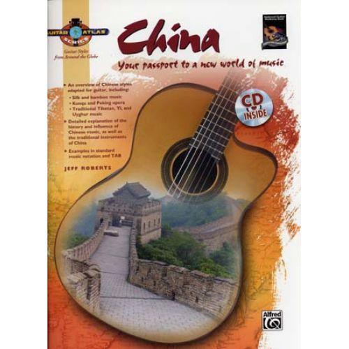 ALFRED PUBLISHING ROBERTS JEFF - GUITAR ATLAS - CHINA + CD