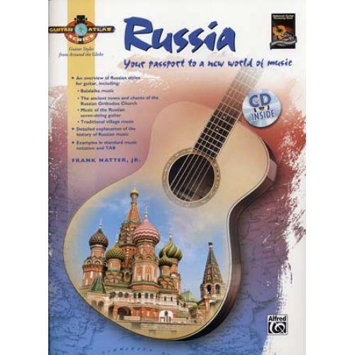 ALFRED PUBLISHING NATTER FRANK JR. - GUITAR ATLAS - RUSSIA + CD