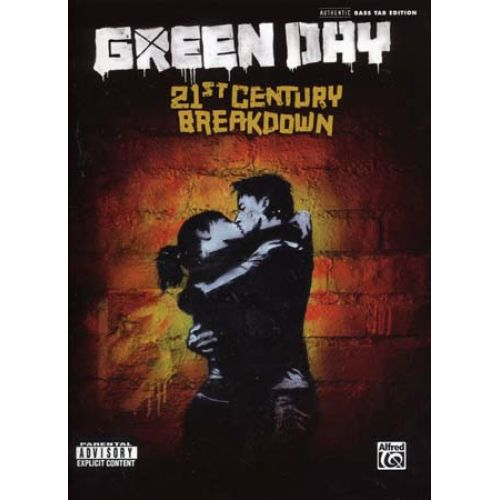 ALFRED PUBLISHING GREEN DAY - 21ST CENTURY BREAKDOWN - BASSE TAB