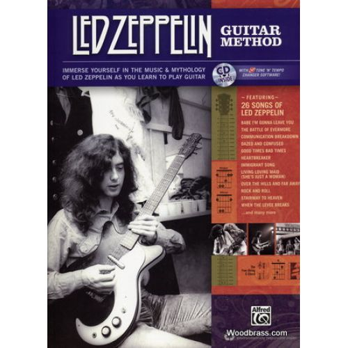 ALFRED PUBLISHING LED ZEPPELIN GUITAR METHOD