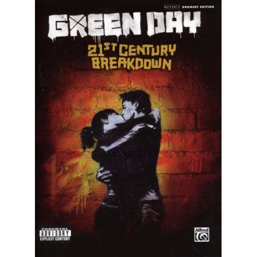 ALFRED PUBLISHING GREEN DAY - 21ST CENTURY BREAKDOWN - DRUMSET