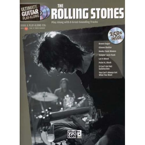 ALFRED PUBLISHING ROLLING STONES - ULTIMATE GUITAR PLAY ALONG + 2 CD - GUITAR TAB