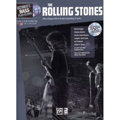 ALFRED PUBLISHING ROLLING STONES, THE - ULTIMATE BASS PLAY ALONG + 2 CD - BASSE