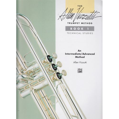 ALFRED PUBLISHING VIZZUTTI ALLEN - TRUMPET METHOD BK.1 TECHNICAL STUDIES