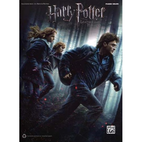 ALFRED PUBLISHING HARRY POTTER VOL.7 - LES RELIQUES DE LA MORT - PIANO SOLOS