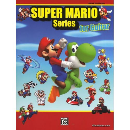 ALFRED PUBLISHING SUPER MARIO SERIES FOR GUITAR