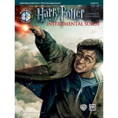 ALFRED PUBLISHING HARRY POTTER INSTRUMENTAL SOLOS FOR STRINGS - VIOLONCELLE