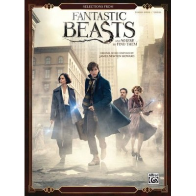 ALFRED PUBLISHING FANTASTIC BEASTS AND WHERE TO FIND THEM - PIANO SOLO / VOCAL