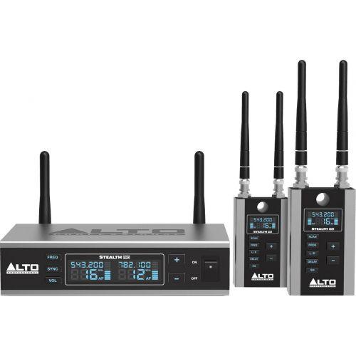ALTO PROFESSIONAL UHF PRO EMETTEUR + 2 RECEPTEURS