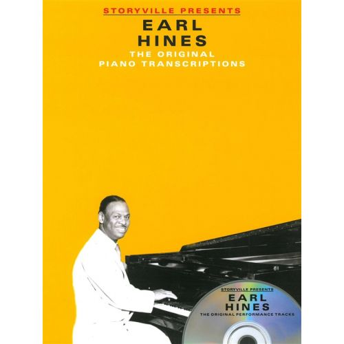 MUSIC SALES STORYVILLE PRESENTS EARL HINES - PIANO SOLO