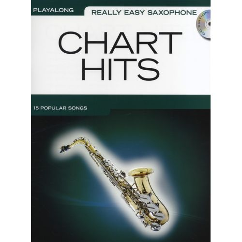 WISE PUBLICATIONS REALLY EASY SAXOPHONE CHART HITS WITH CD - ALTO SAXOPHONE