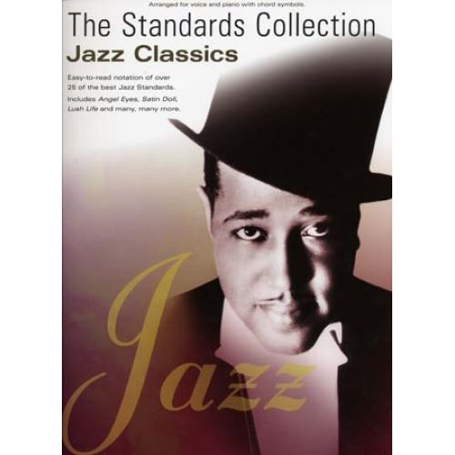 WISE PUBLICATIONS STANDARDS COLLECTION JAZZ CLASSICS - PVG