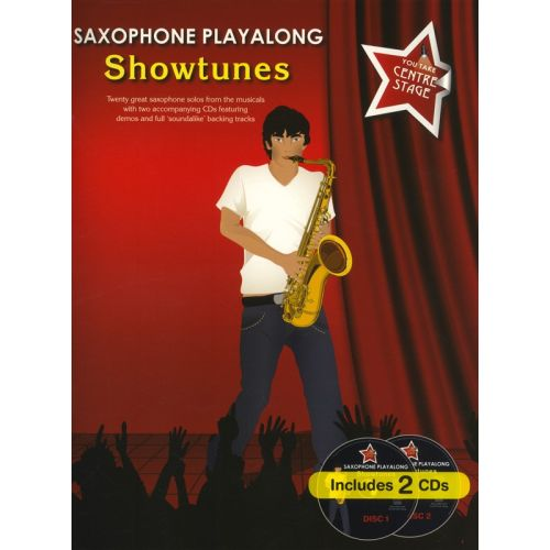WISE PUBLICATIONS YOU TAKE CENTRE STAGE SAXOPHONE PLAYALONG SHOWTUNES - ALTO SAXOPHONE