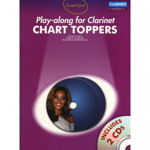 WISE PUBLICATIONS PLAY ALONG FOR CLARINET CHART TOPPERS - CLARINET