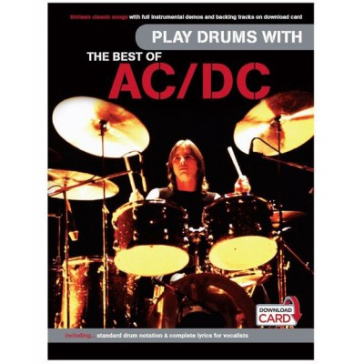 WISE PUBLICATIONS AC/DC - BEST OF PLAY DRUMS WITH + 2 CD - BATTERIE