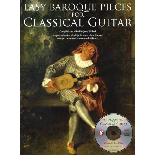 MUSIC SALES EASY PIECES FOR BAROQUE + CD - GUITAR