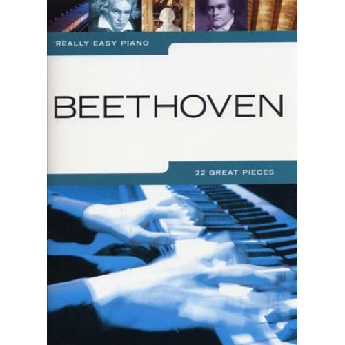 WISE PUBLICATIONS REALLY EASY PIANO - BEETHOVEN