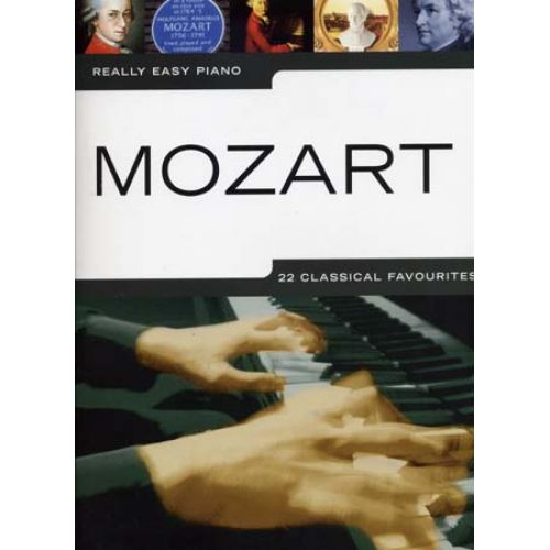 WISE PUBLICATIONS MOZART W.A. - REALLY EASY PIANO