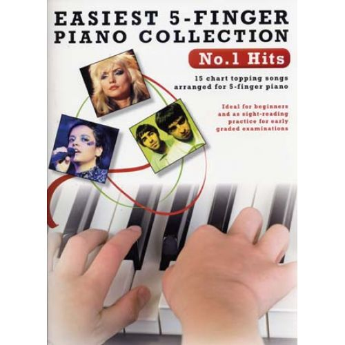 WISE PUBLICATIONS EASIEST 5-FINGER PIANO COLLECTION N°1 HITS