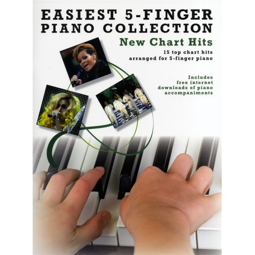 WISE PUBLICATIONS EASIEST 5 FINGER PIANO COLLECT NEW CHART - PIANO SOLO