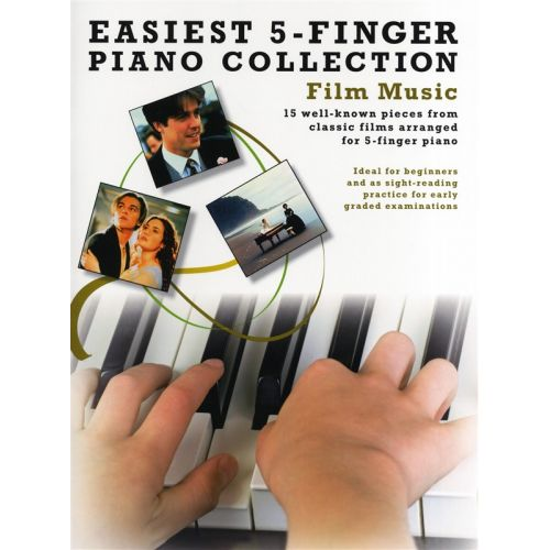 WISE PUBLICATIONS EASIEST 5 FINGER PIANO COLLECTION FILM MUSIC - PIANO SOLO
