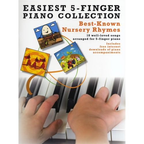 WISE PUBLICATIONS BEST KNOWN NURSERY THYMES - PIANO SOLO