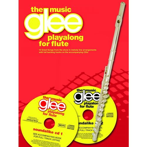 WISE PUBLICATIONS GLEE THE MUSIC PLAYALONG + 2CD - FLUTE