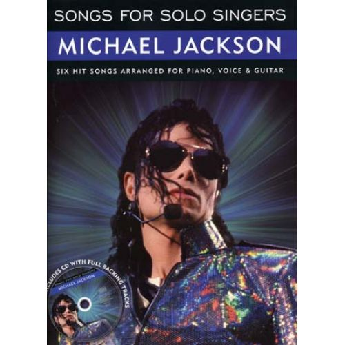 WISE PUBLICATIONS JACKSON MICHAEL - SONGS FOR SOLO SINGERS + CD - PVG