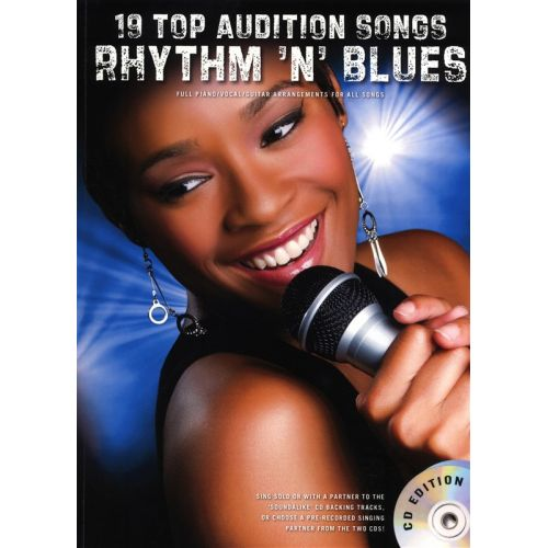 WISE PUBLICATIONS 19 TOP AUDITION SONGS RHYTHM N BLUES - PVG