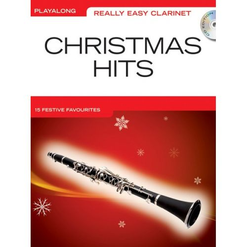 WISE PUBLICATIONS REALLY EASY CLARINET CHRISTMAS HITS + CD - CLARINET