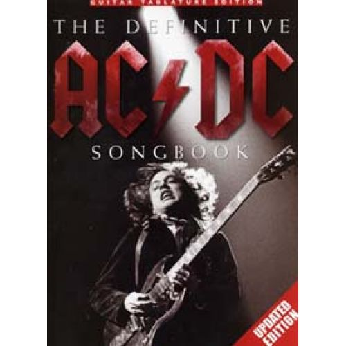 WISE PUBLICATIONS AC/DC DEFINITIVE SONGBOOK TAB UPDATED EDITION