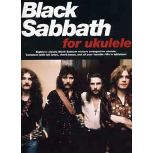 WISE PUBLICATIONS BLACK SABBATH FOR UKULELE