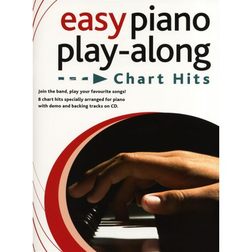 WISE PUBLICATIONS EASY PIANO PLAYALONG CHART HITS PIANO + CD - PIANO SOLO