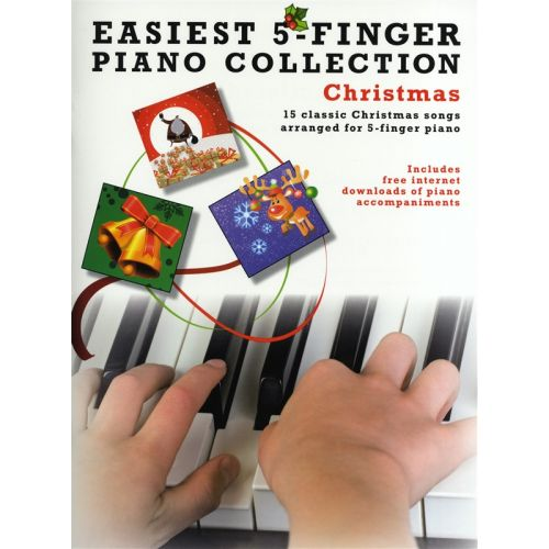 WISE PUBLICATIONS EASIEST 5-FINGER PIANO COLLECTION - CHRISTMAS - PIANO SOLO