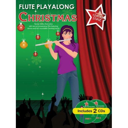 WISE PUBLICATIONS FLUTE PLAYALONG CHRISTMAS - FLUTE