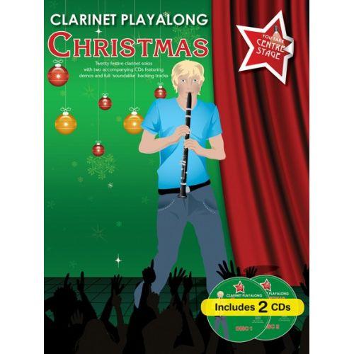 WISE PUBLICATIONS CLARINET PLAYALONG CHRISTMAS - CLARINET