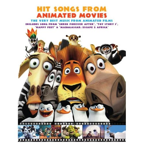 WISE PUBLICATIONS HIT SONGS FROM ANIMATED MOVIES - PVG