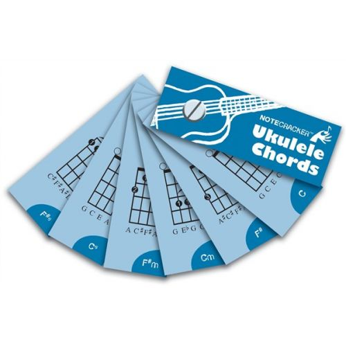 WISE PUBLICATIONS NOTECRACKER UKULELE CHORDS UKE CARDS - UKULELE